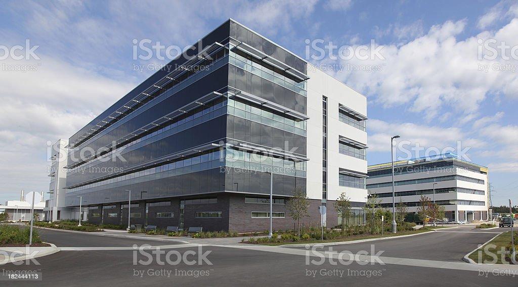University Buildings stock photo