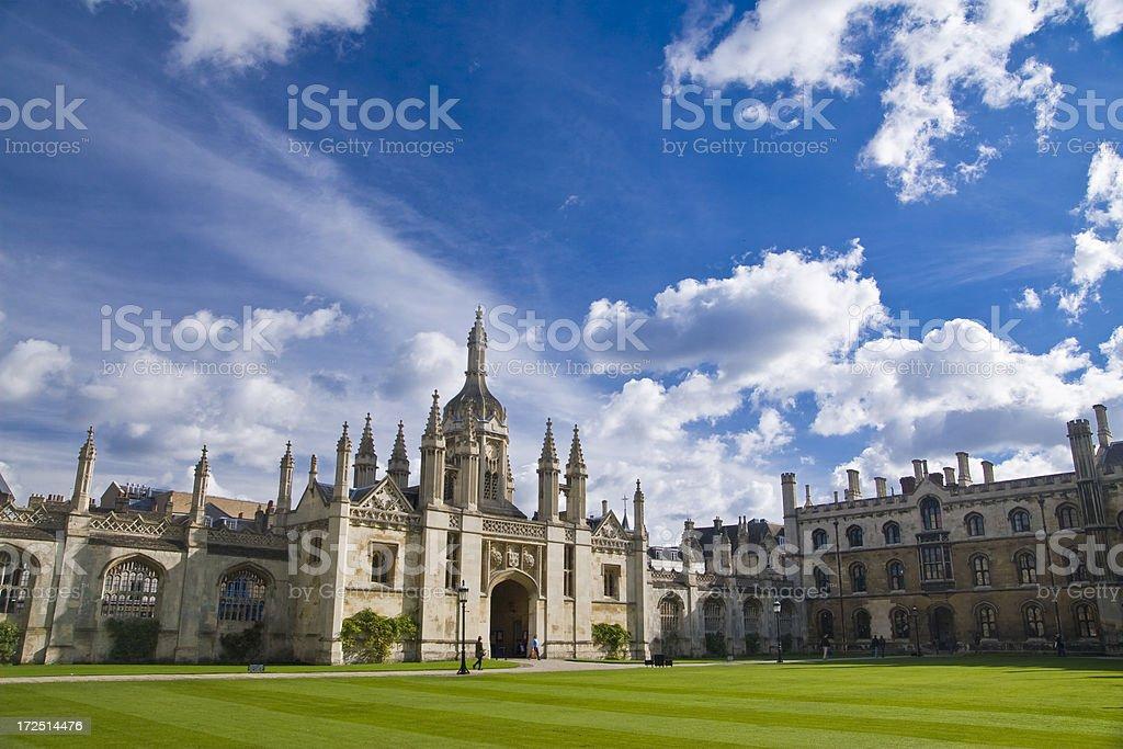 University Cambridge UK stock photo