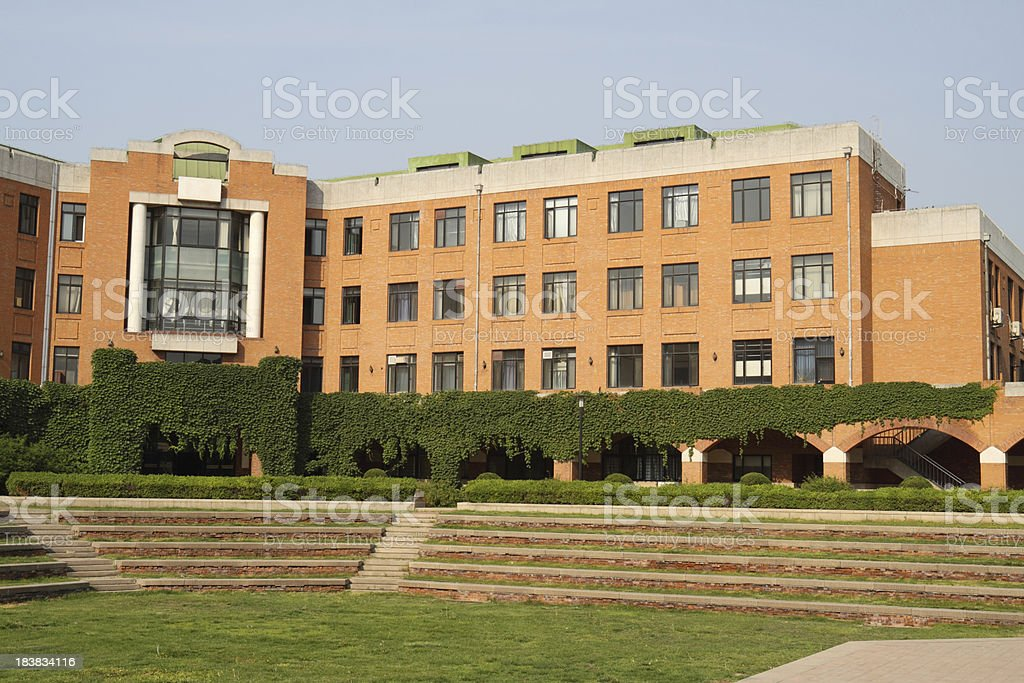 University Campus Building royalty-free stock photo