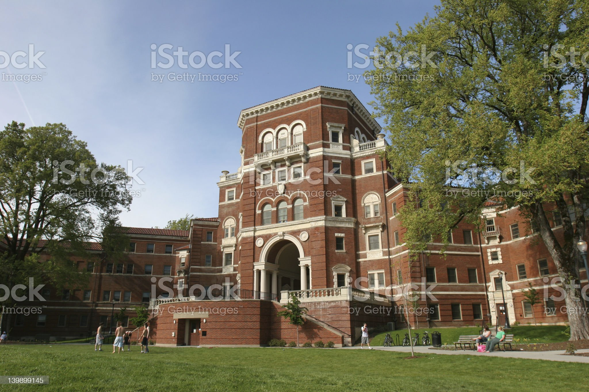 University Campus royalty-free stock photo