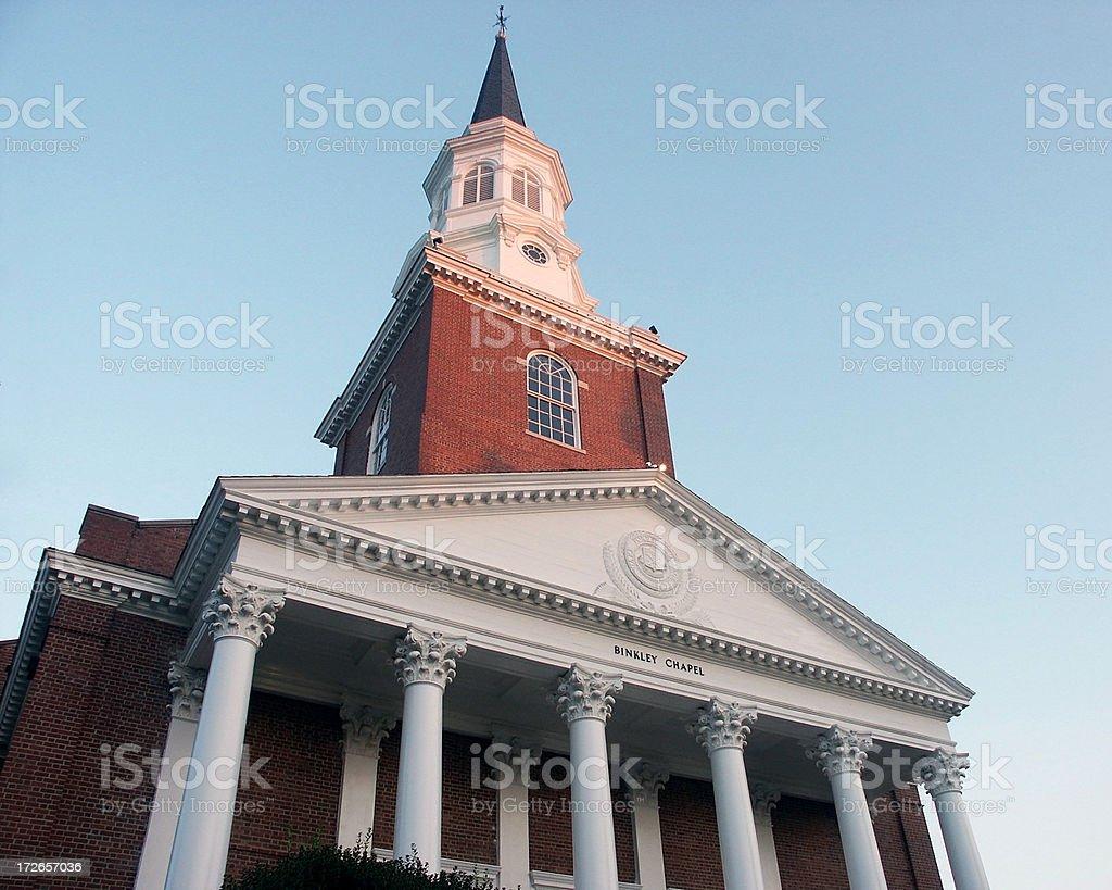 University Chapel stock photo