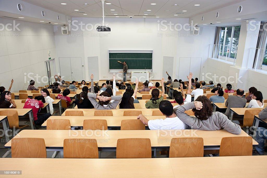 University classroom in Istockalypse, Japan stock photo
