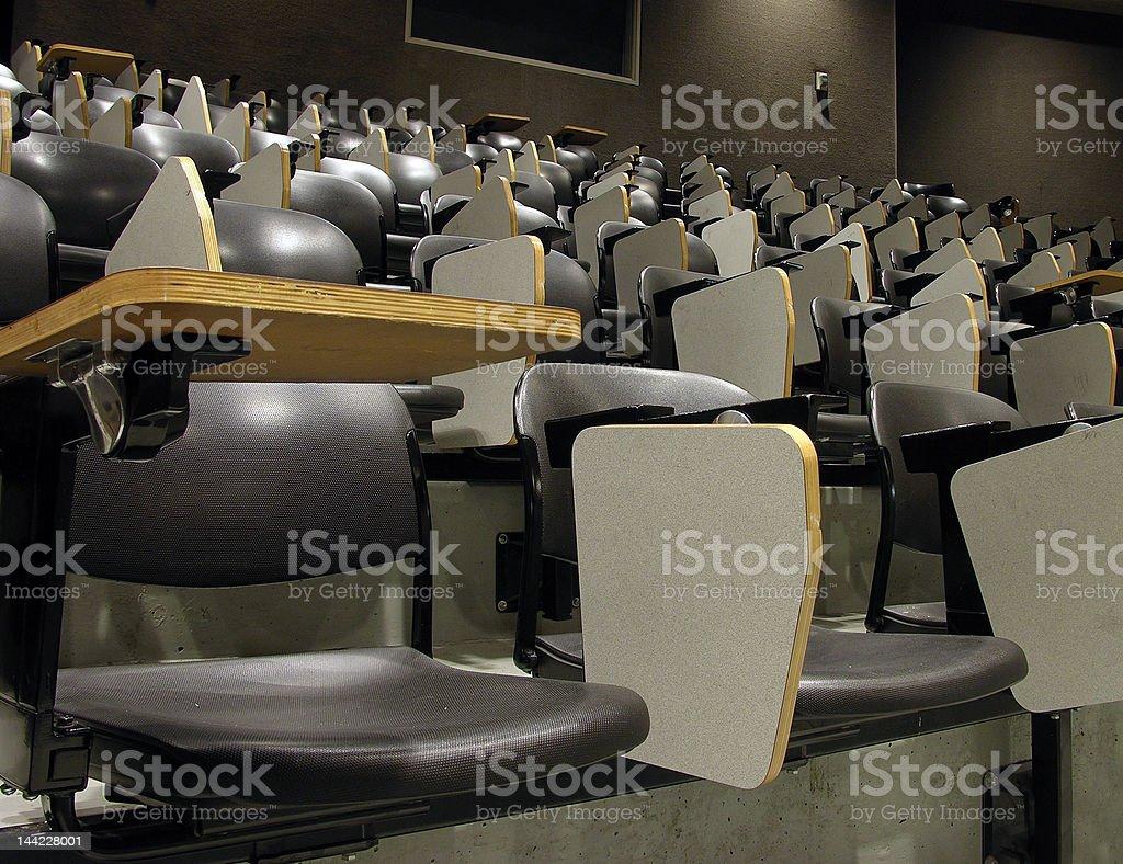 University Classroom royalty-free stock photo