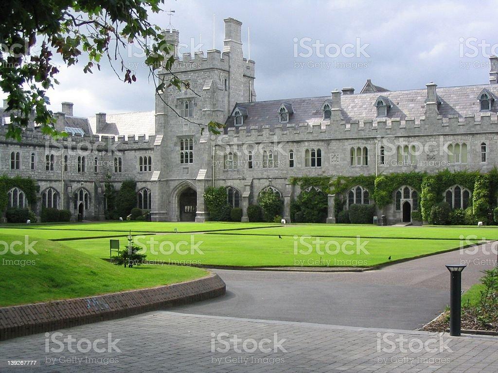 UCC, University College Cork City, Ireland royalty-free stock photo