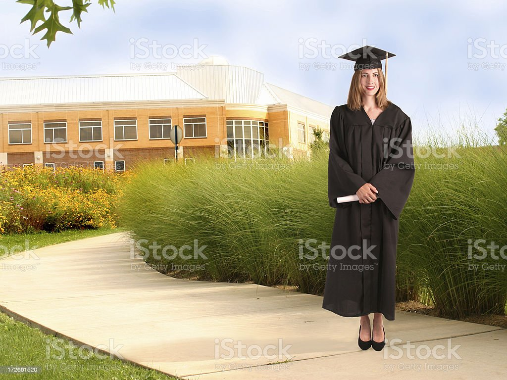 University Graduate royalty-free stock photo