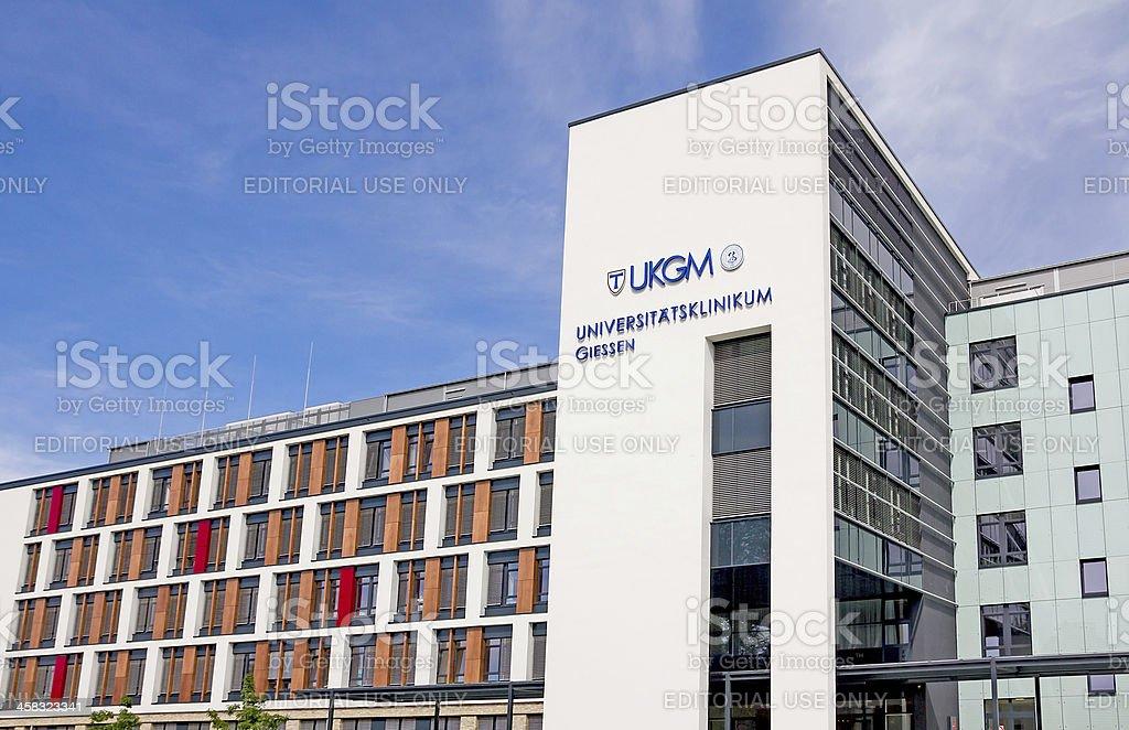 University Hospital Giessen stock photo