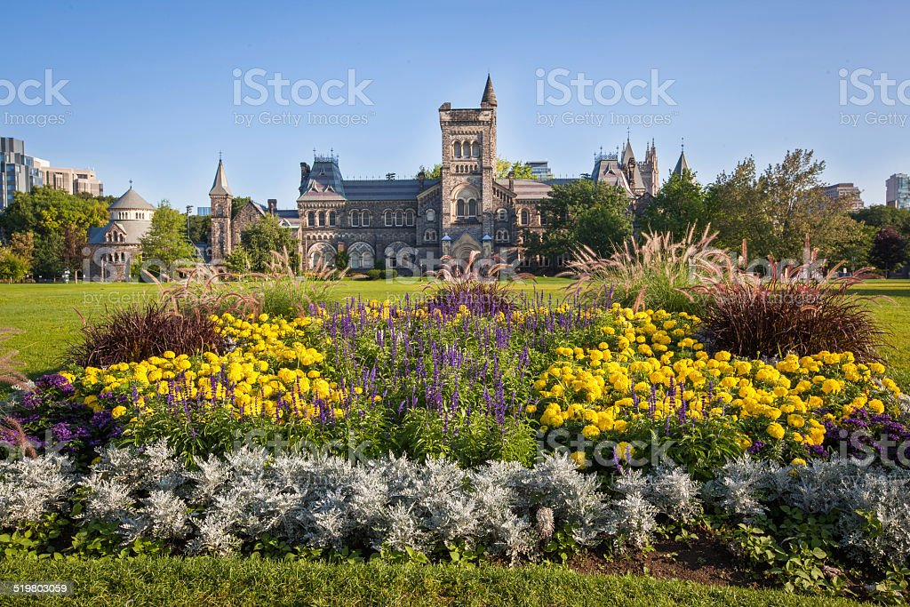 University in Toronto stock photo