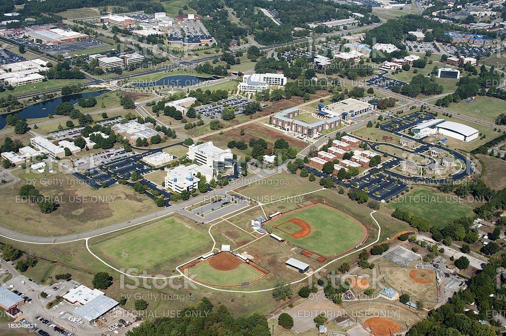 University of Alabama in Huntsville stock photo