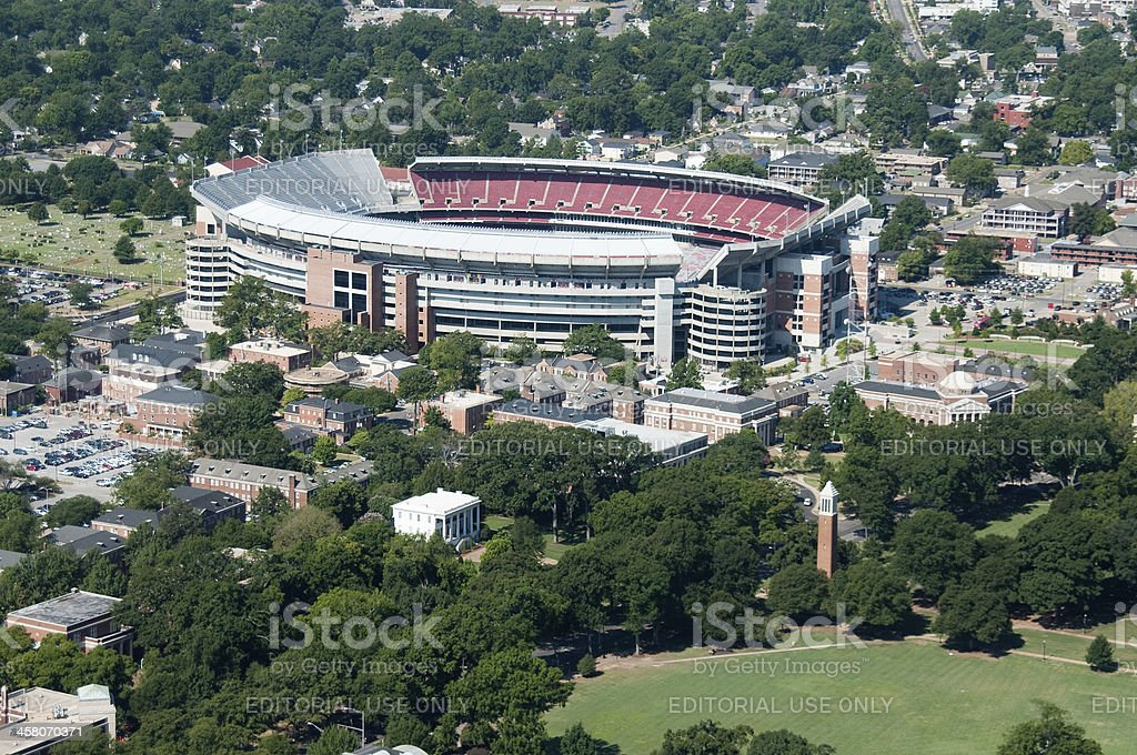 University of Alabama in Tuscaloosa stock photo