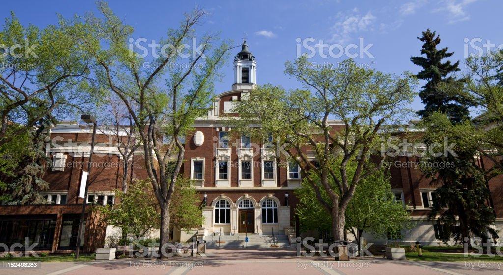 University of Alberta, Edmonton royalty-free stock photo