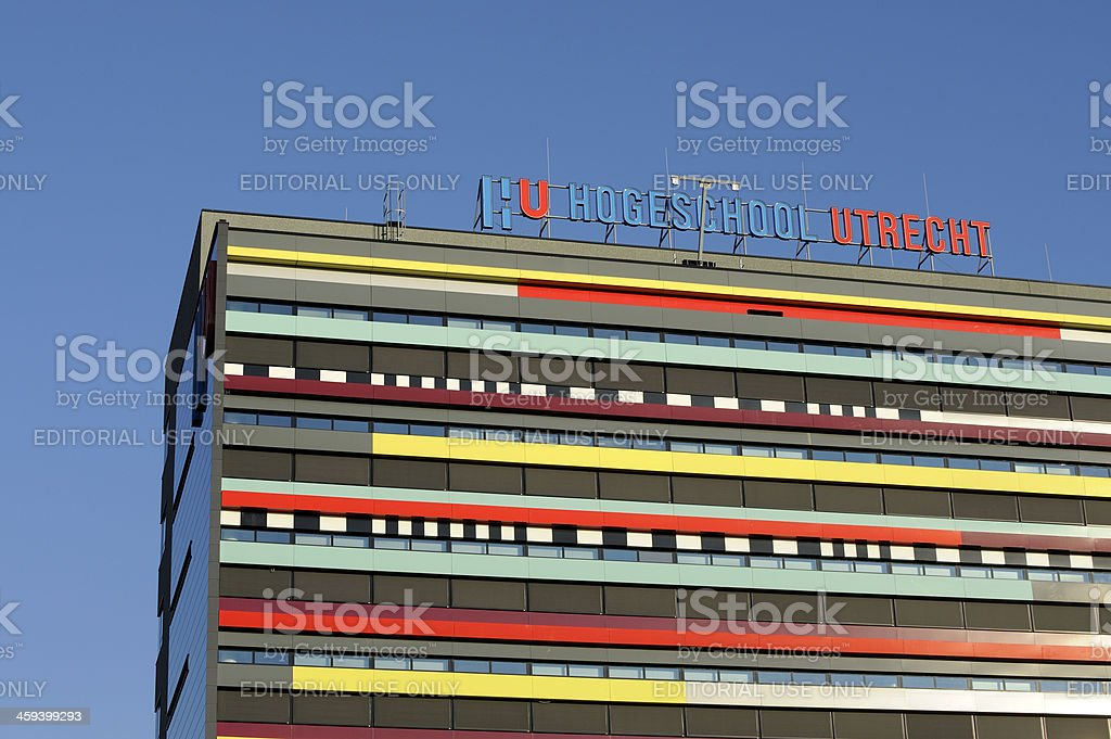 University of applied sciences building royalty-free stock photo