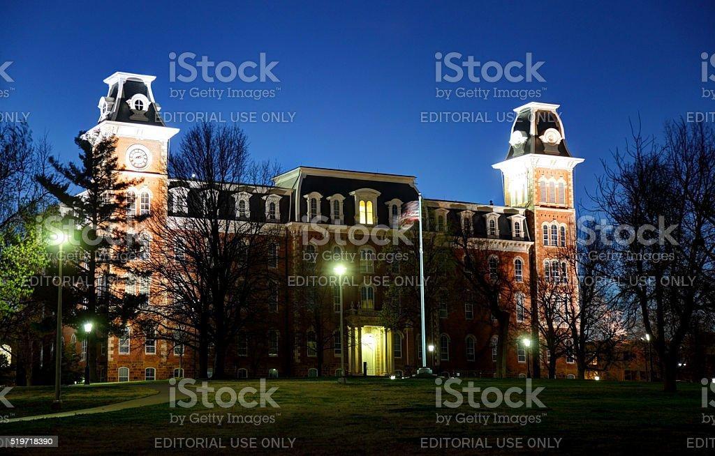 University of Arkansas stock photo