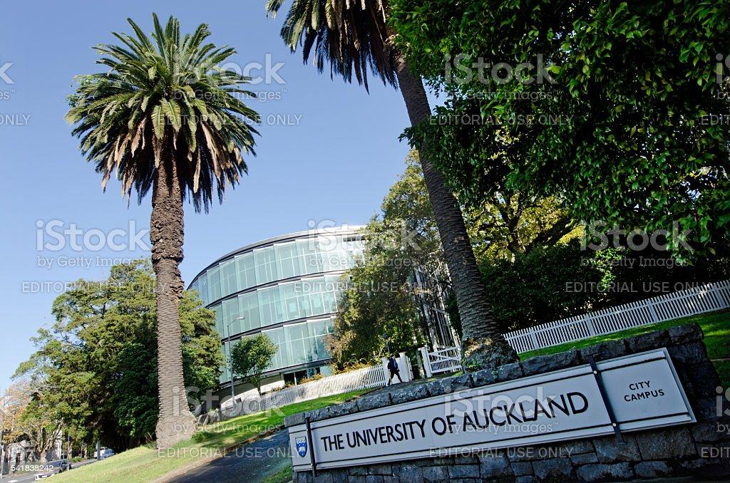 University of Auckland stock photo