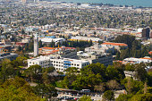 University of California, Berkeley Campus Aerial
