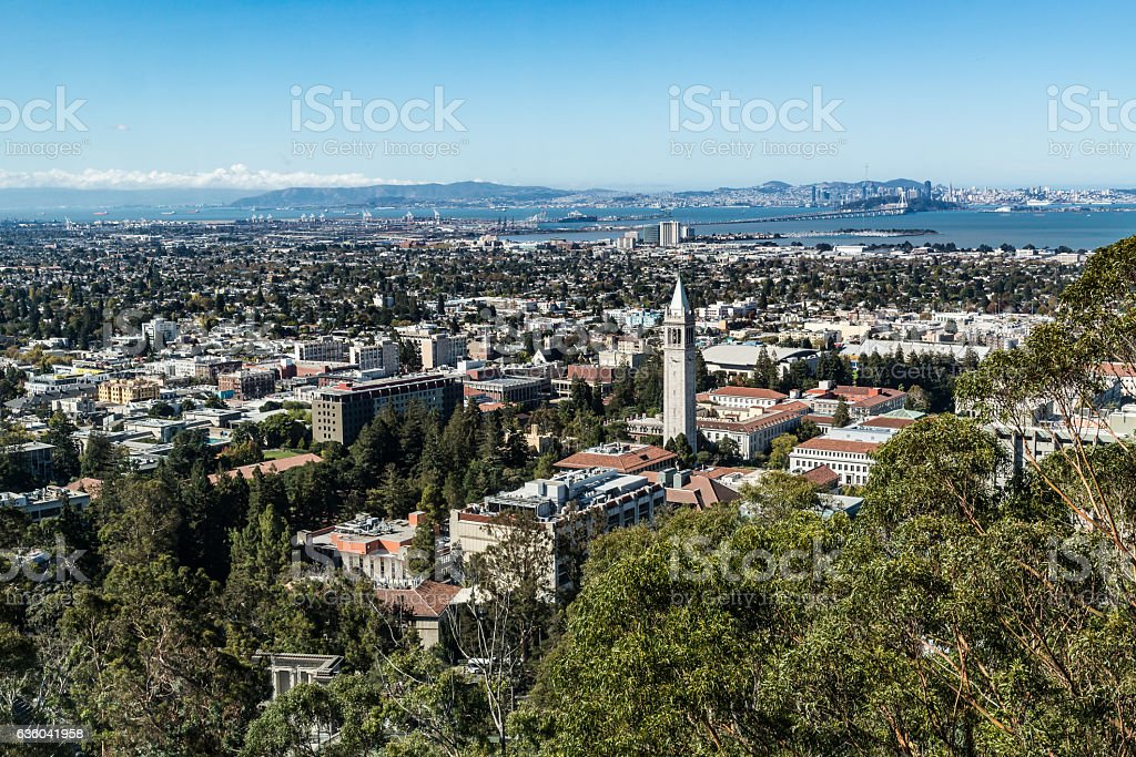 University of California Berkeley stock photo