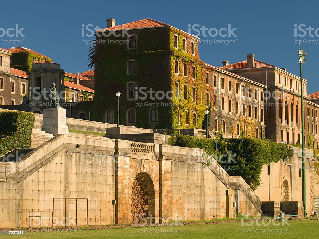 University of Cape Town campus stock photo