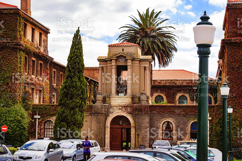 University of Cape Town - Smuts Hall stock photo