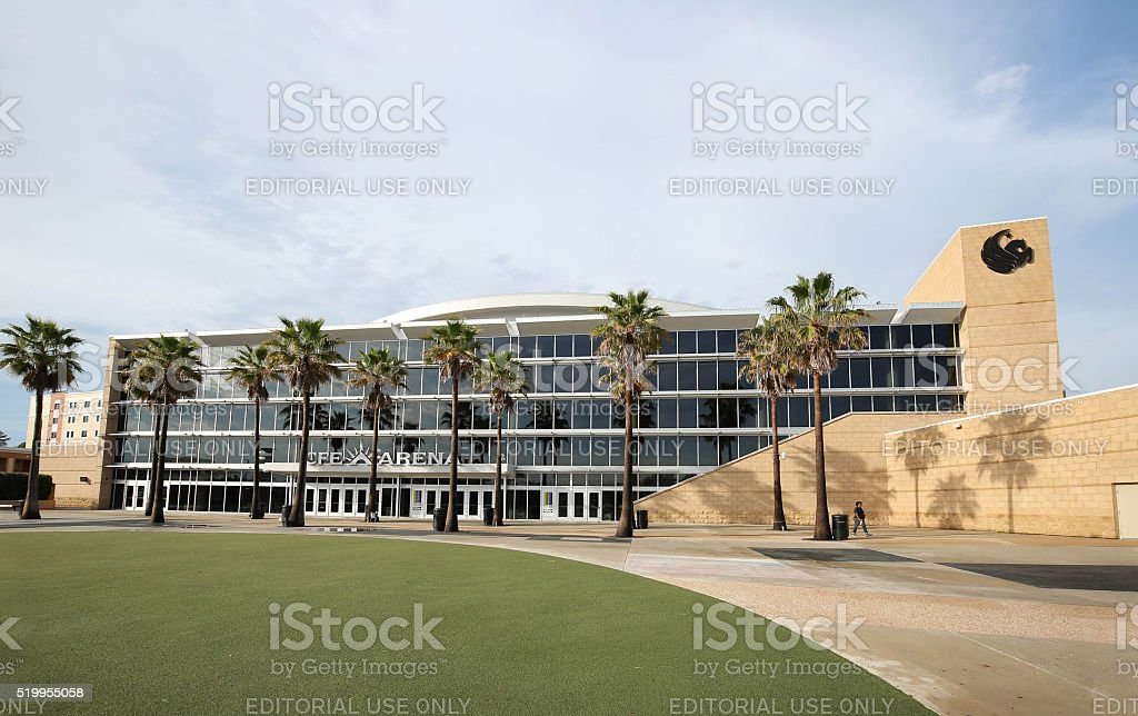 University of Central Florida CFE Arena stock photo
