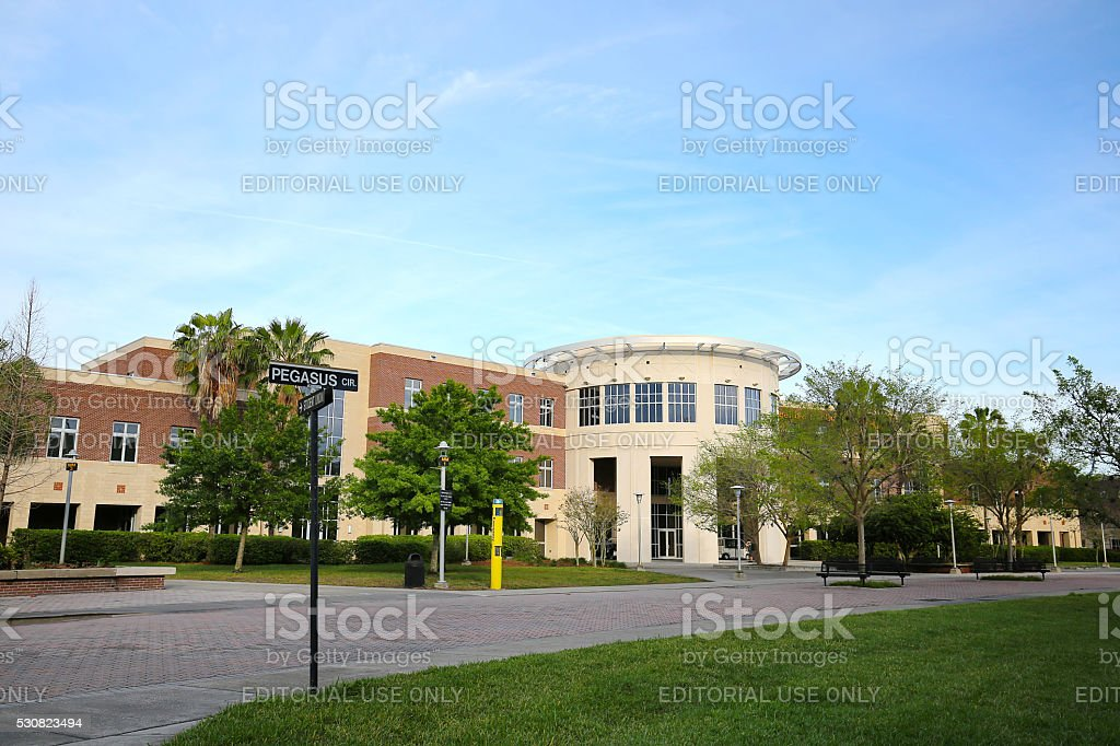 University of Central Florida's Health & Public Affairs Building stock photo