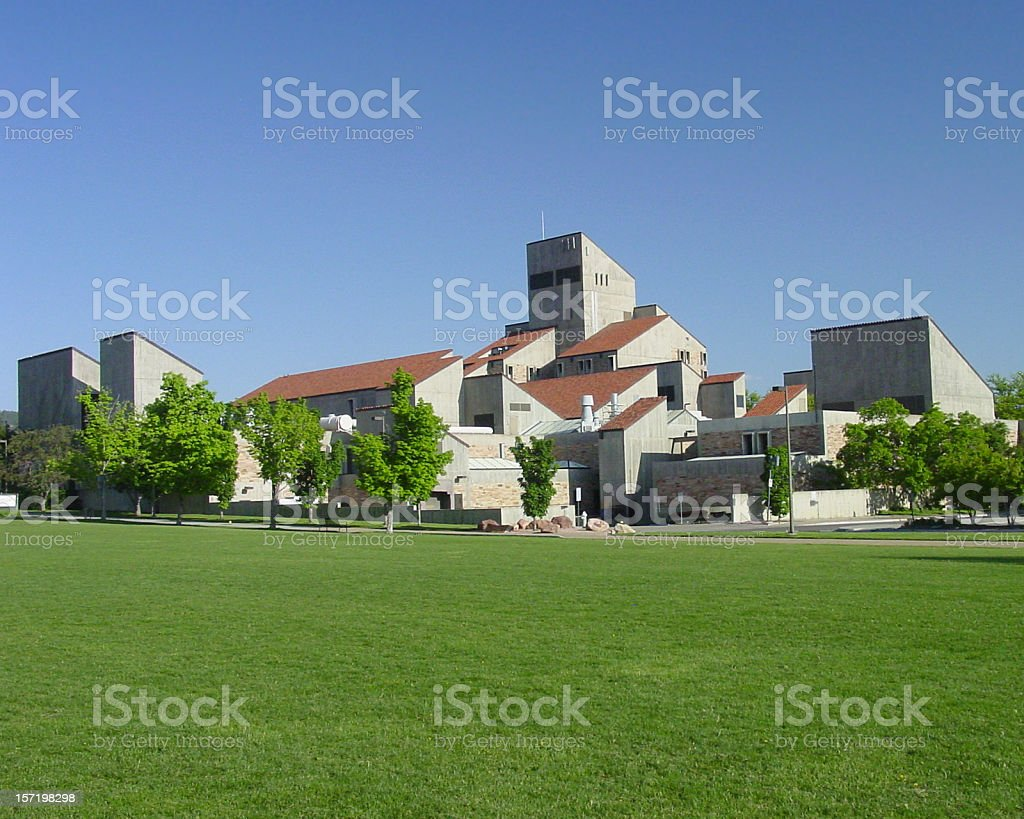 University of Colorado, Boulder royalty-free stock photo