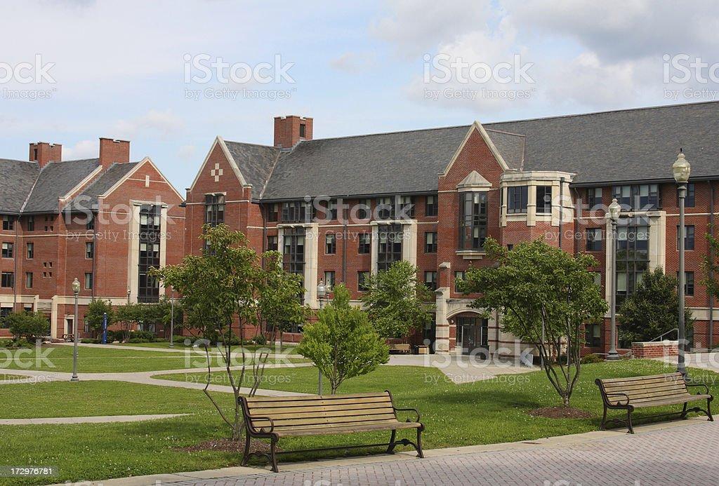 University of Connecticut royalty-free stock photo