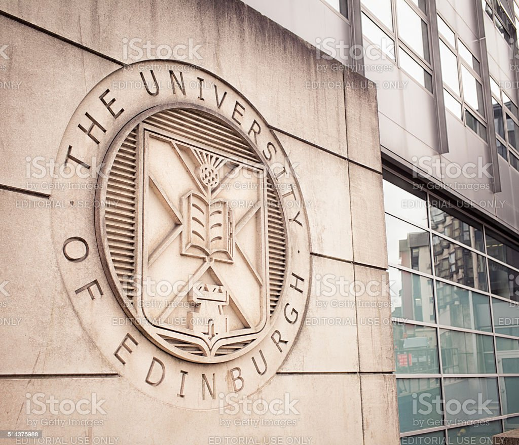 University of Edinburgh building stock photo