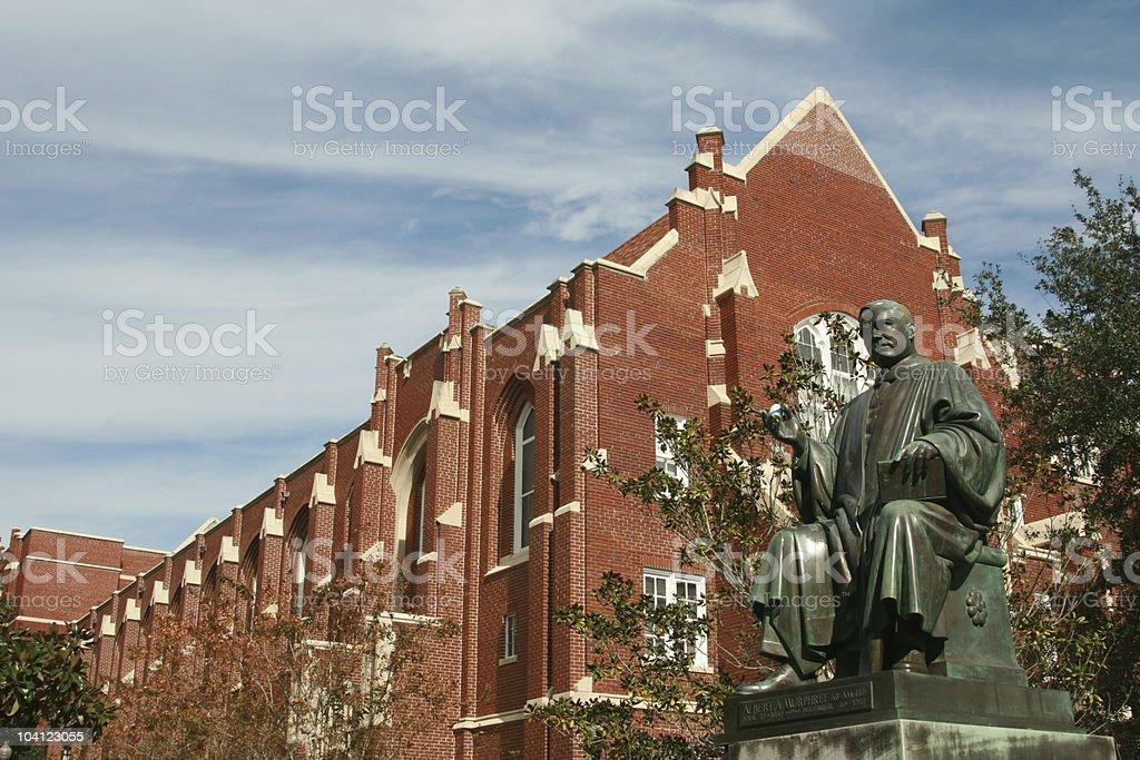 University of Florida Albert Murphree statue stock photo