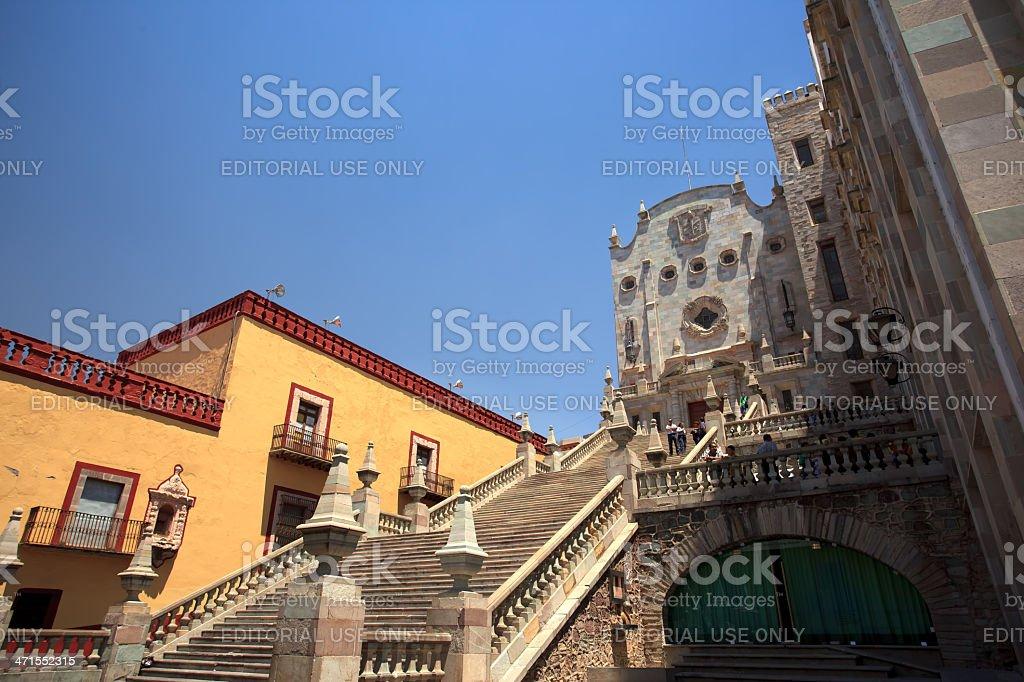 University of Guanajuato royalty-free stock photo