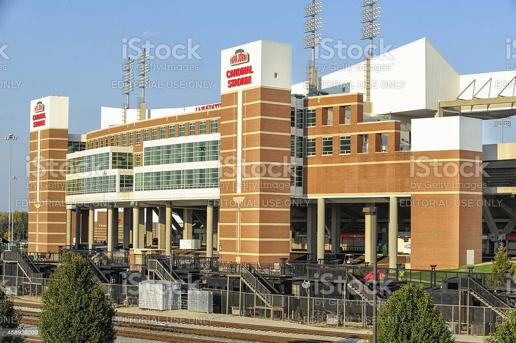 University of Louisville Cardinal Football Stadium royalty-free stock photo