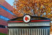 University of Louisville sign