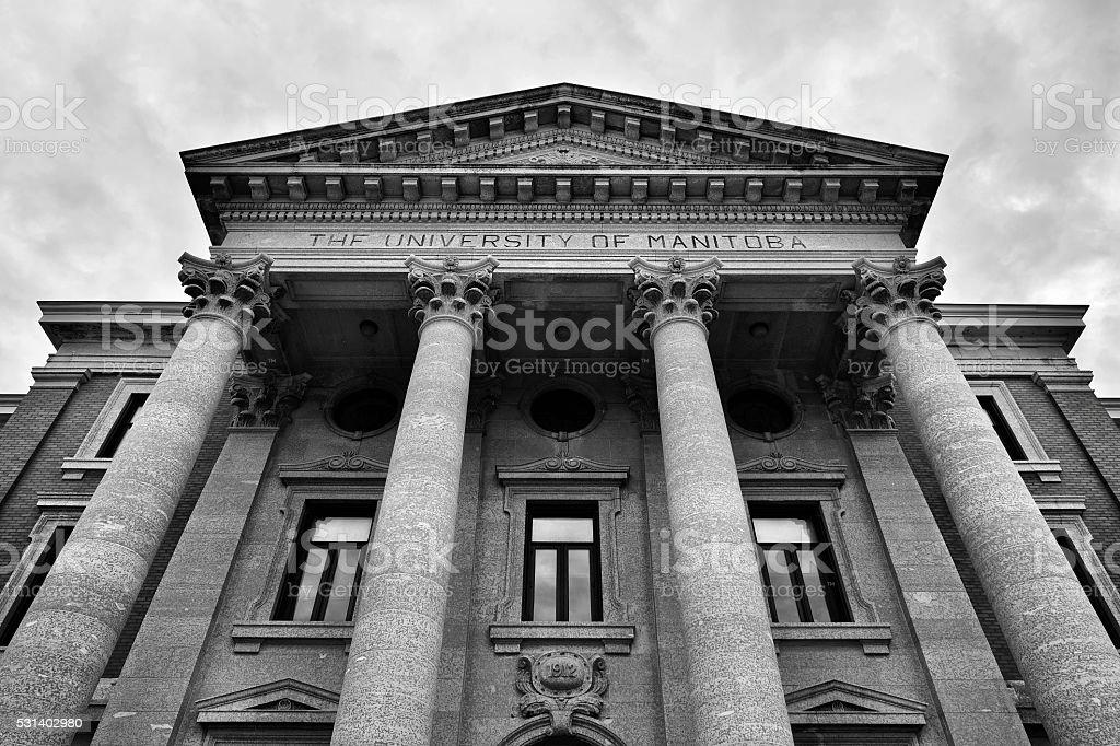 University Of Manitoba stock photo