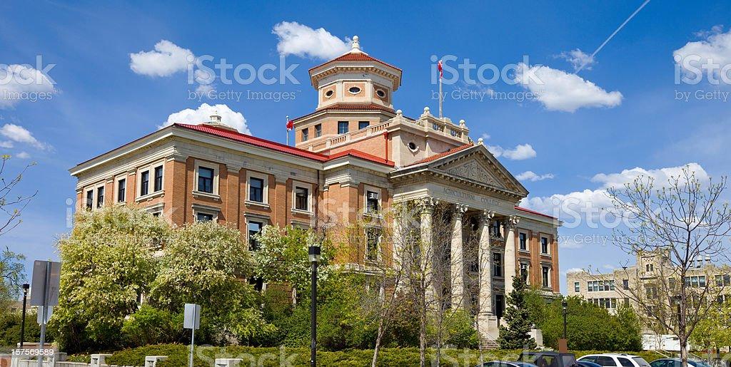 University of Manitoba, Winnipeg royalty-free stock photo