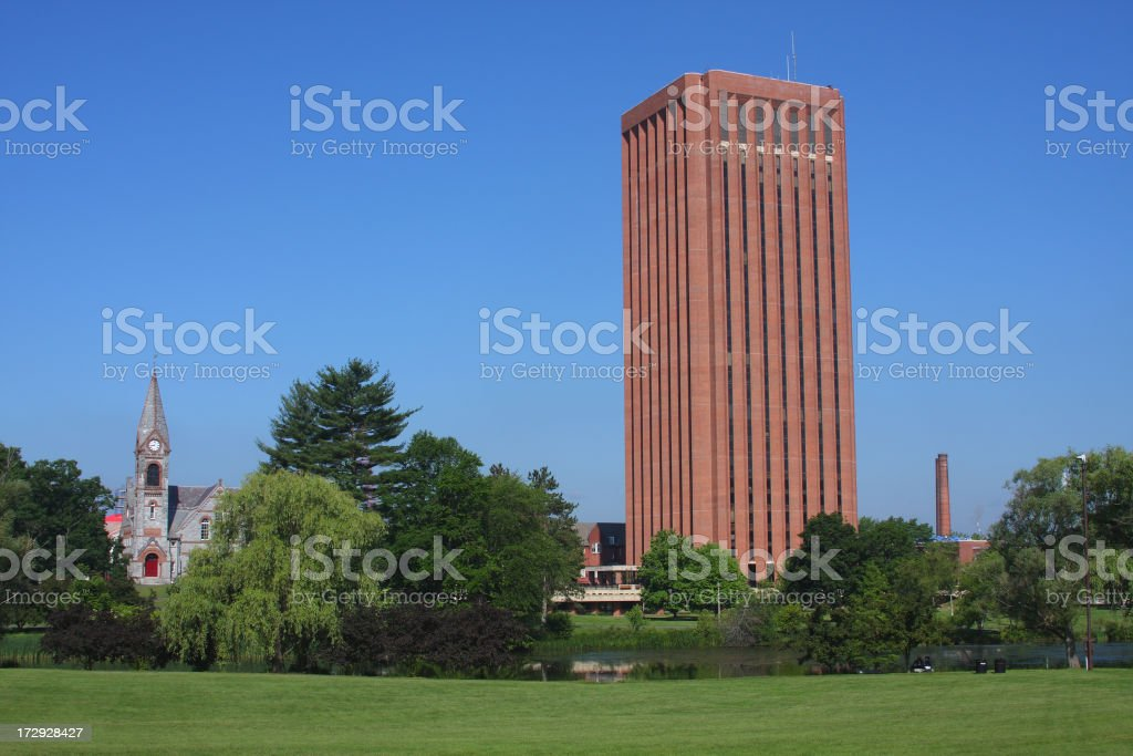 University of Massachusetts stock photo