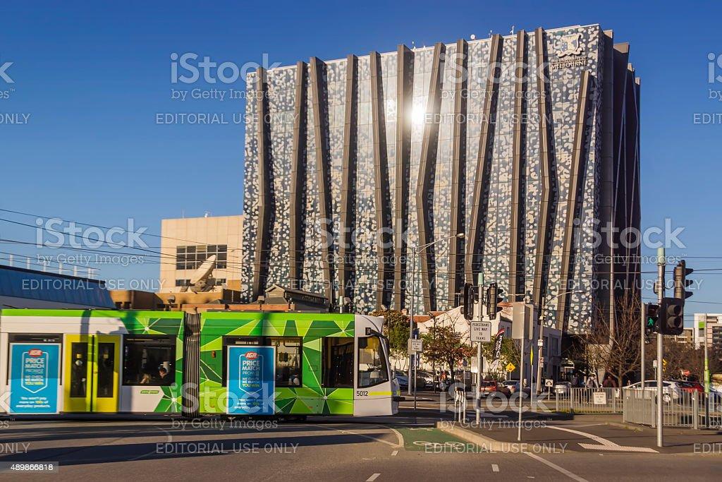 University of Melbourne - The Spot stock photo