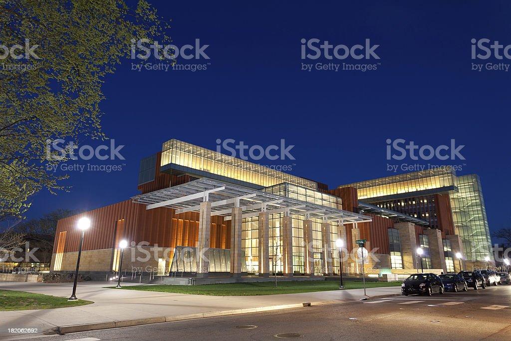 University of Michigan Business School stock photo