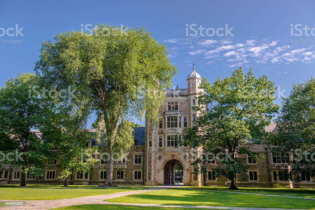 University of Michigan Law School, Ann Arbor stock photo