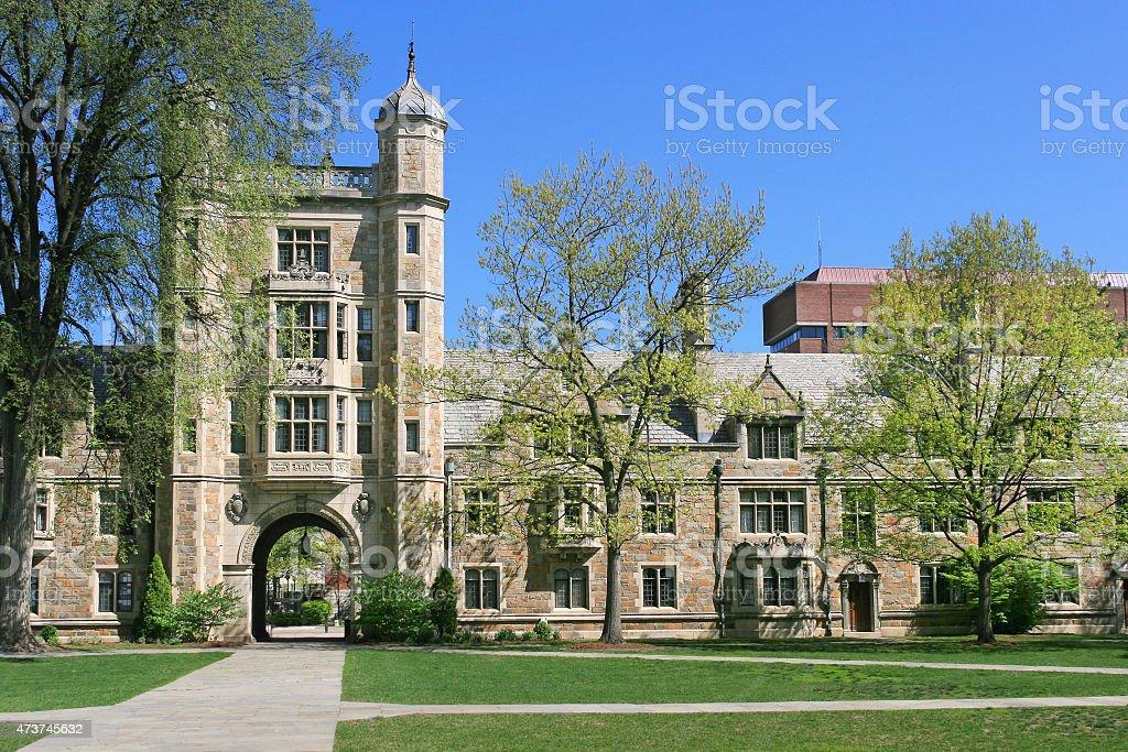 University of Michigan Law School, Ann Arbor. stock photo