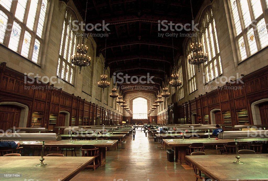 University of Michigan Law School Library royalty-free stock photo