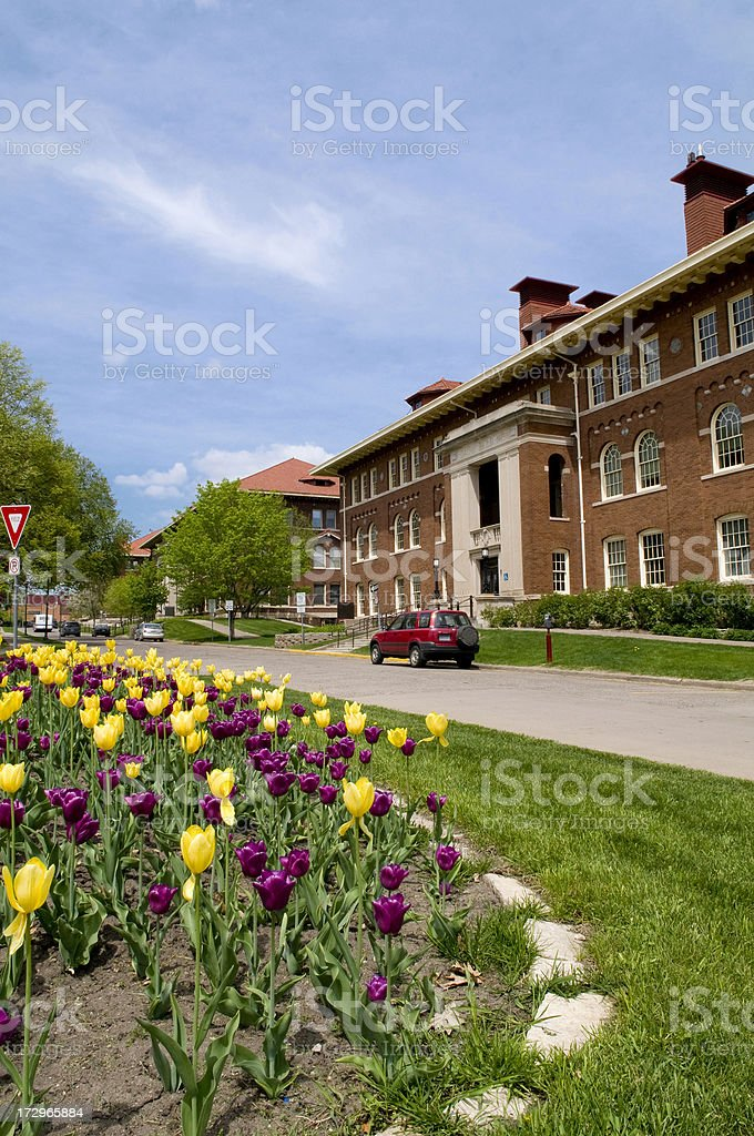 University of Minnesota, St. Paul campus royalty-free stock photo