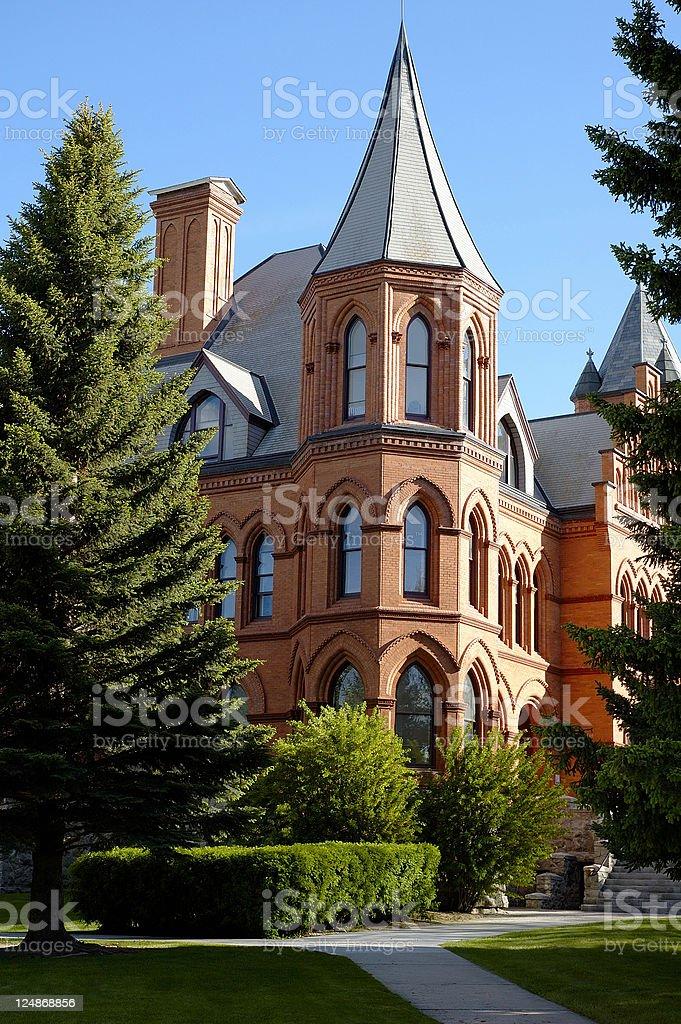 University of Montana Western II royalty-free stock photo