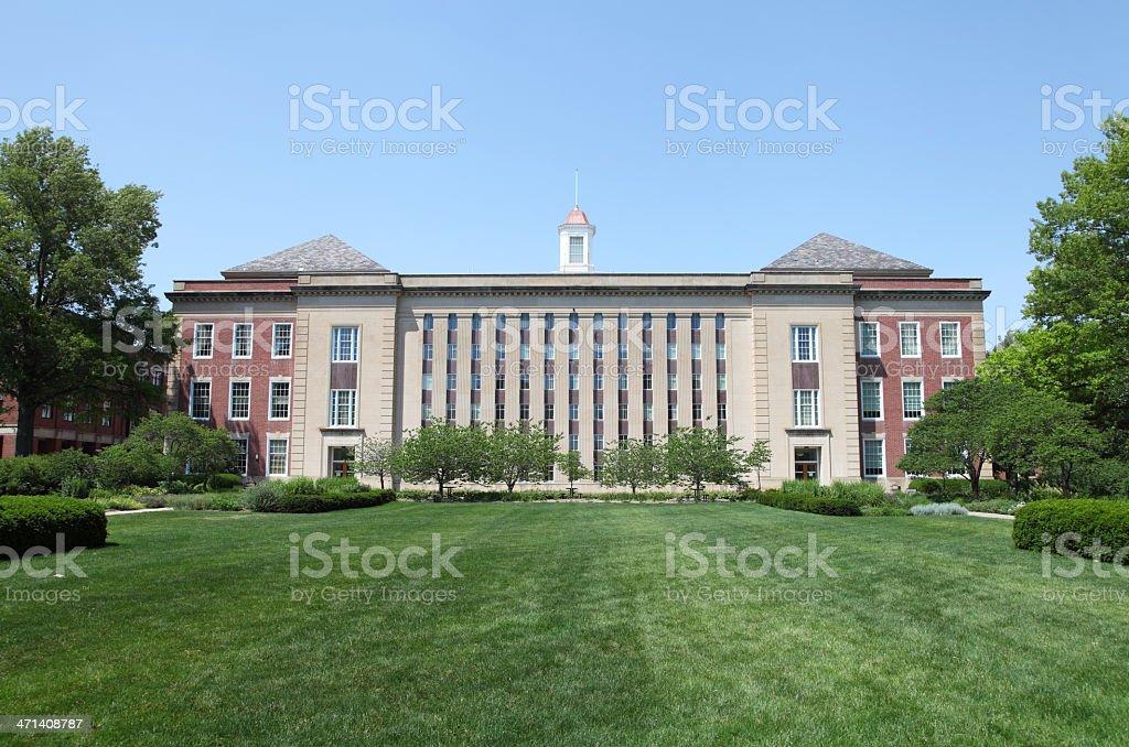 University of Nebraska royalty-free stock photo