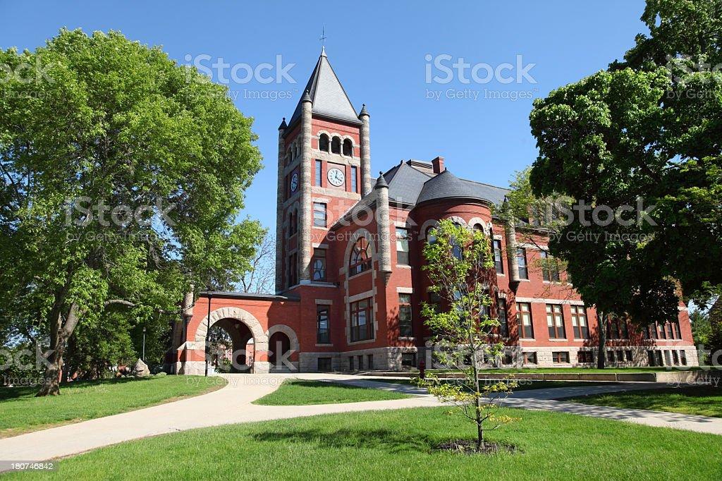 University of New Hampshire stock photo