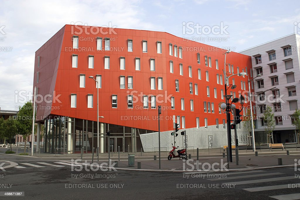 University of Nice Sophia Antipolis royalty-free stock photo