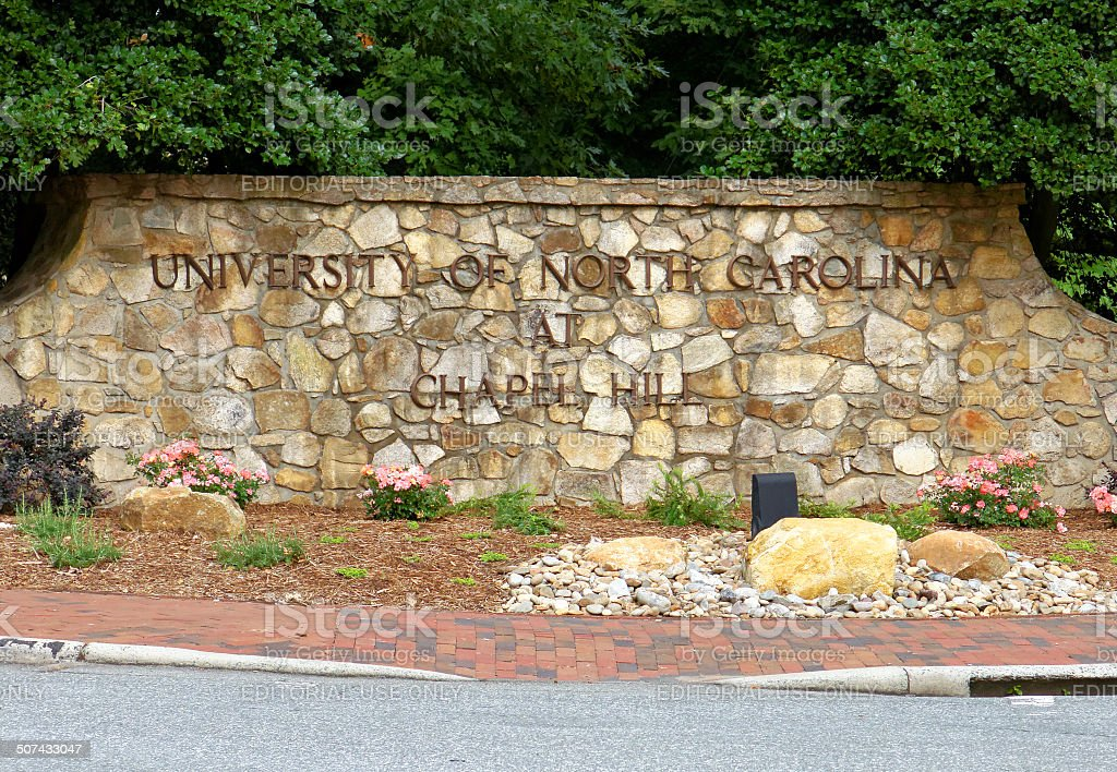 University of North Carolina at Chapel Hill stock photo
