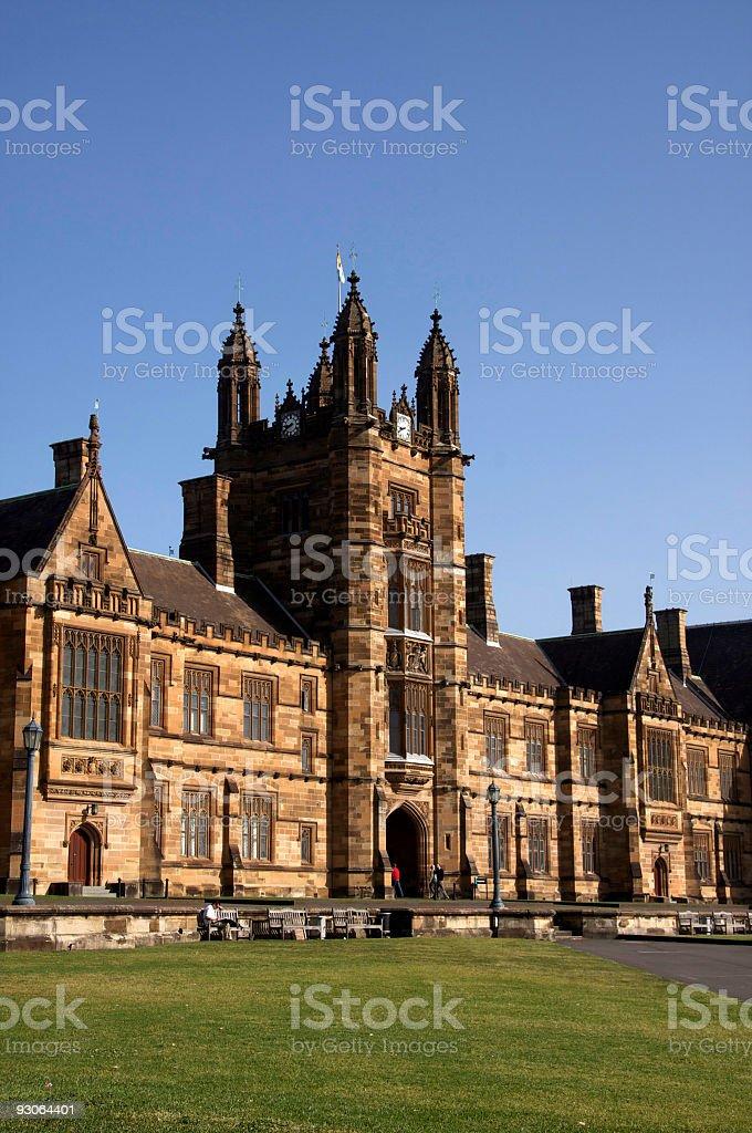 University of Sydney royalty-free stock photo