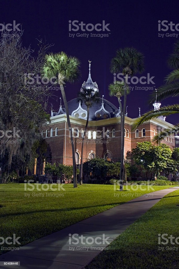 University of Tampa royalty-free stock photo