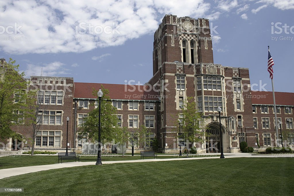 University of Tennessee Campus - Ayres Hall stock photo