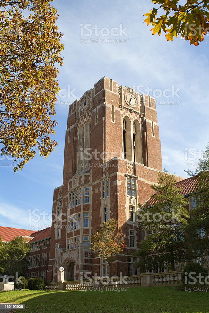 University Of Tennessee Hill stock photo