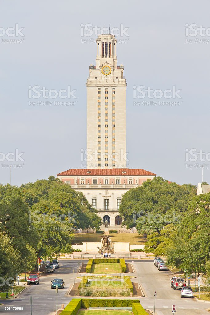 University of Texas Tower stock photo