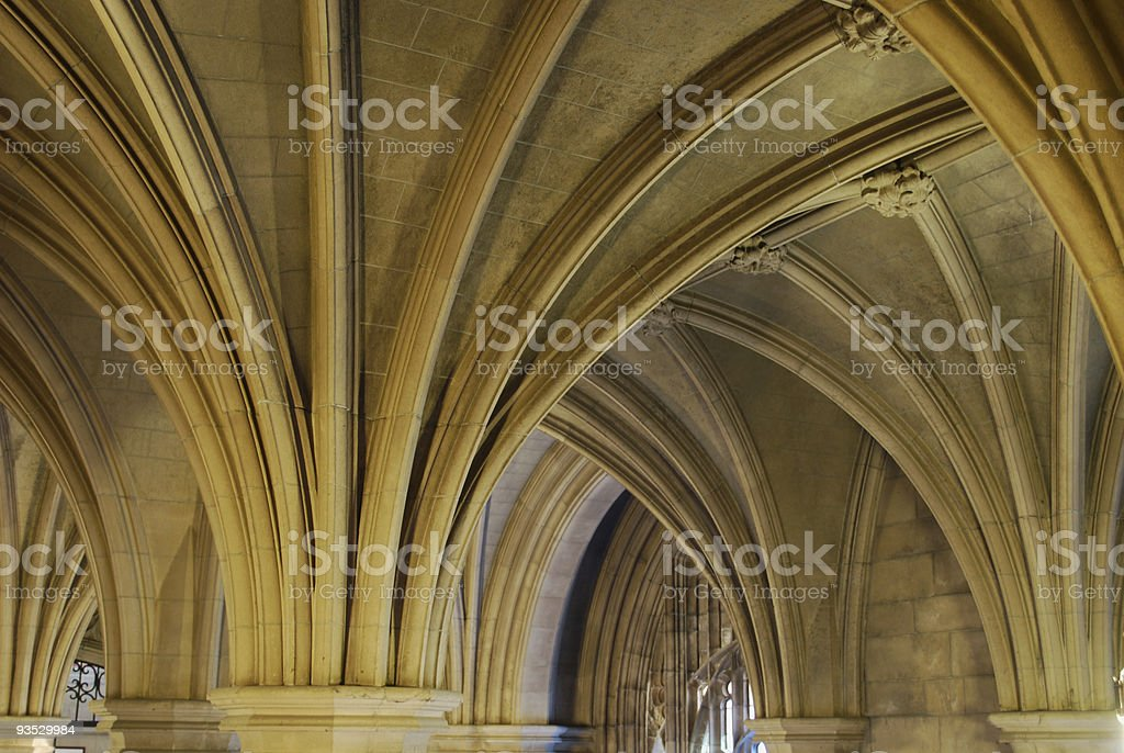 University of Toronto architecture. Knox College interior. stock photo